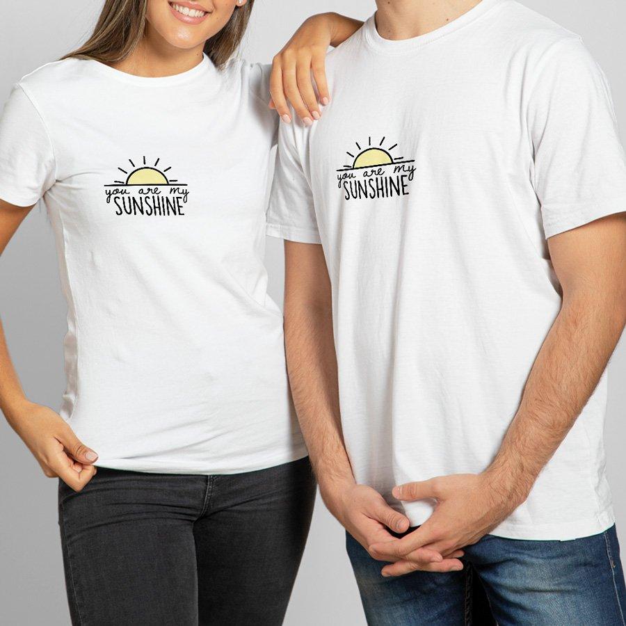Çiftlere Özel Gün Işığımsın Tişört